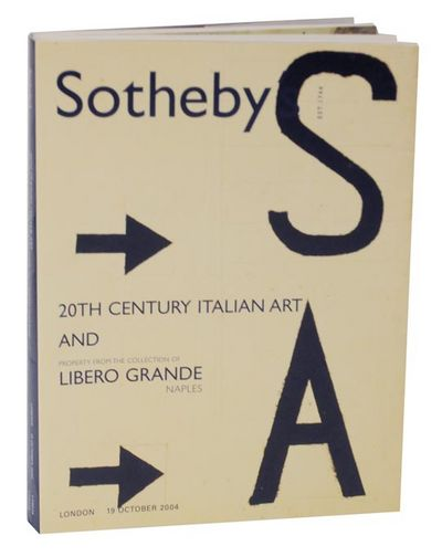 London: Sotheby's, 2004. First edition. Softcover auction catalogs. October, 19, 2004. 2 auction cat...