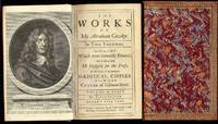 The works of Mr. Abraham Cowley ... Consisting of those which were formerly printed; and those...