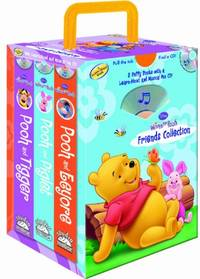 Disney Winnie the Pooh Set: Pooh & Eeyore/Pooh & Piglet/Pooh & Tigger [With CD in...