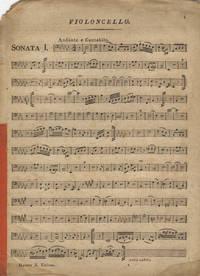 [H. XV:1, 2, 9, 30, 31]. [VIII Sonates pour le pianoforte, V sonates avec l'accompagnement de violon et violoncelle, III sonates avec accompagnement de violon]. [Violoncello part only] by  Joseph  1732-1809 HAYDN - 1800 - from J & J Lubrano Music Antiquarians LLC and Biblio.co.uk