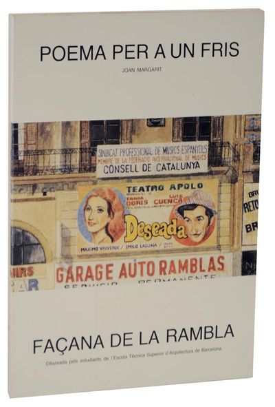 Barcelona: Tallers Graficos Hostench, S. A., 1987. First edition. Oversized softcover. Student drawi...