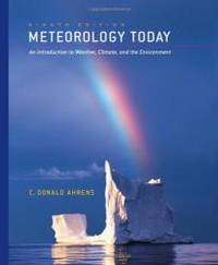 image of Meteorology Today: An Introduction to Weather, Climate, and the Environment (with 1pass for MeteorologyNOW)