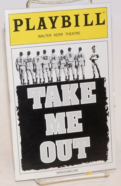 New York: Playbill Inc, 2003. Magazine. 48p. including covers, 5.25x8.5 inches, cast, crew, bios, fe...