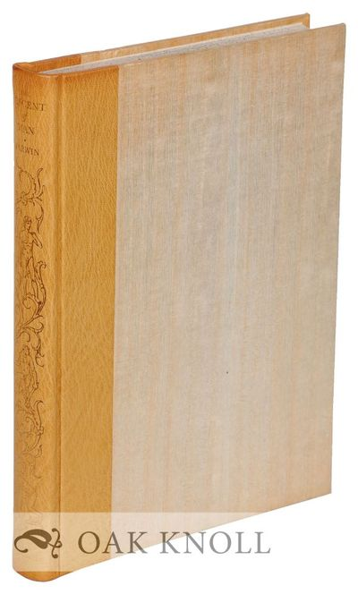 N.P.: The Limited Editions Club, 1971. quarter leather, slipcase. Limited Editions Club. 4to. quarte...