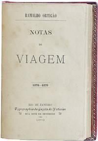 Notas de viagem 1878-1879.