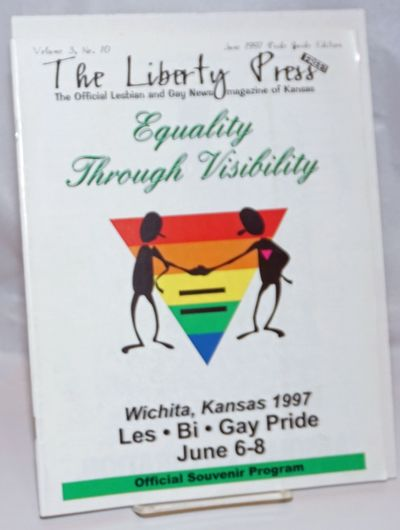 Wichita: The Liberty Press, Inc, 1997. Magazine. 56p. includes covers, 8.5x11 inches, ads, photos, s...