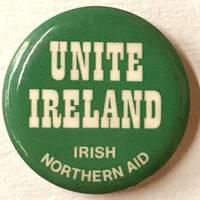 Unite Ireland / Irish Northern Aid [pinback button]