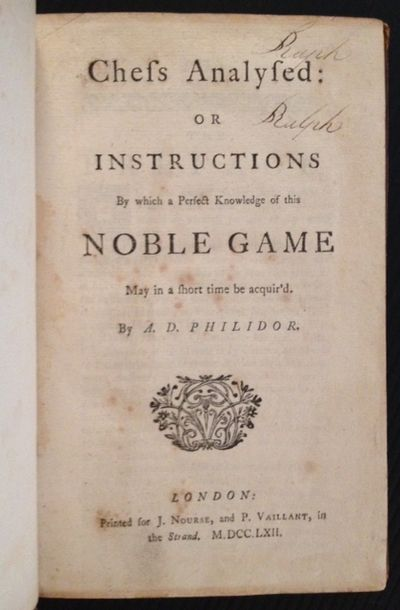 London: J. Nourse and P. Vaillant, 1762. Full-Leather. Collectible; Very Good. The 1862 2nd English ...