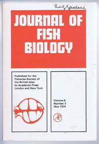 Journal of Fish Biology. Volume 6, Number 3, May 1974