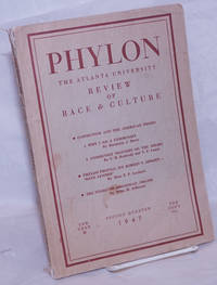 image of Phylon: the Atlanta University  review of race and culture vol. 8, #2; second quarter 1947