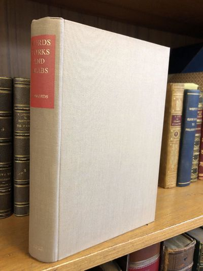 Oxford: Oxford University Press, 1957. First Edition. Hardcover. Octavo, 457 pages; G+; full binding...