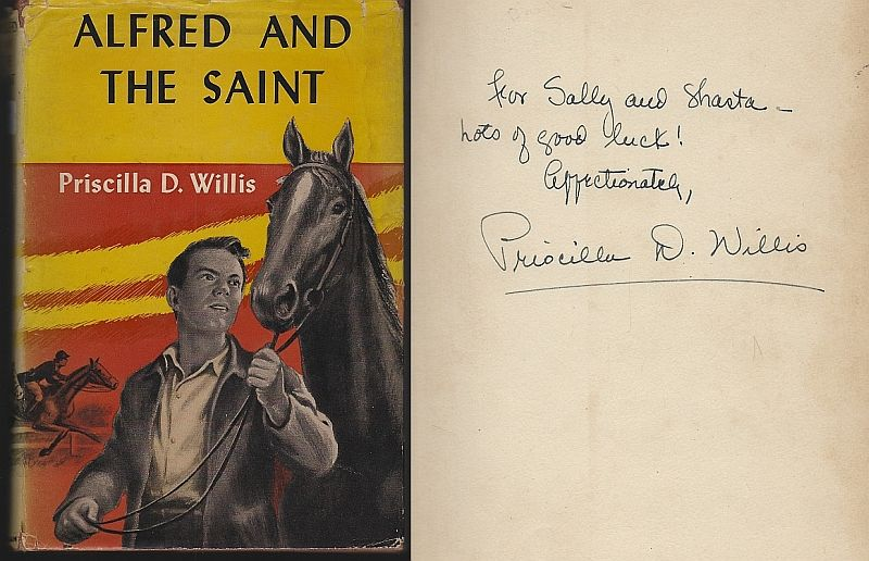 ALFRED AND THE SAINT, Willis, Priscilla