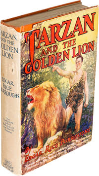 TARZAN and the GOLDEN LION (First Photoplay Edition, INSCRIBED)
