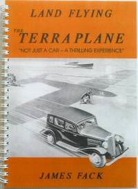 """Land Flying: The Terraplane, """"Not just a car - a thrilling experience"""