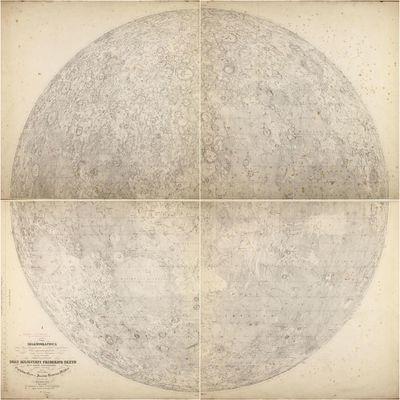 Mappa selenographica totam Lunae...