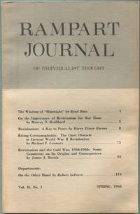 image of Rampart Journal of Individualist Thought: Spring, 1966, Vol. II, No. 1
