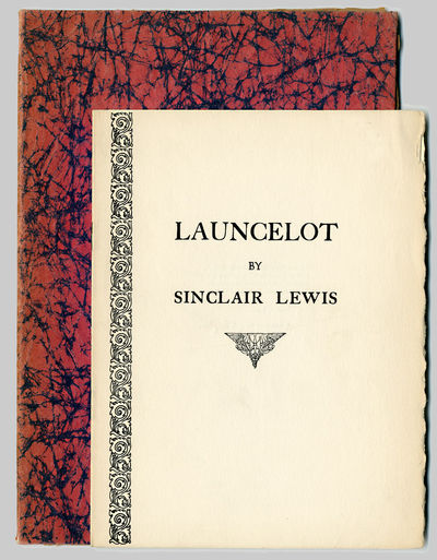[Np: Privately printed by the Harvard Press for Harvey Taylor, 1932. Printed wrappers. First separat...