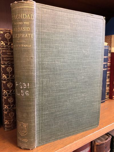 Oxford: Oxford University Press, 1900. First Edition. Hardcover. Octavo, 381 pages; G+; full binding...