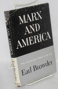 image of Marx and America; a study of the doctrine of impoverishment