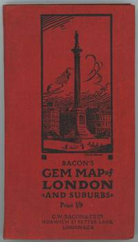 Bacon's Gem Map of London and Suburbs.