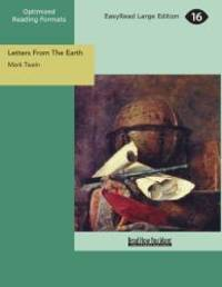 image of Letters From The Earth (EasyRead Large Edition)