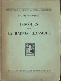 Discours sur la raison classique