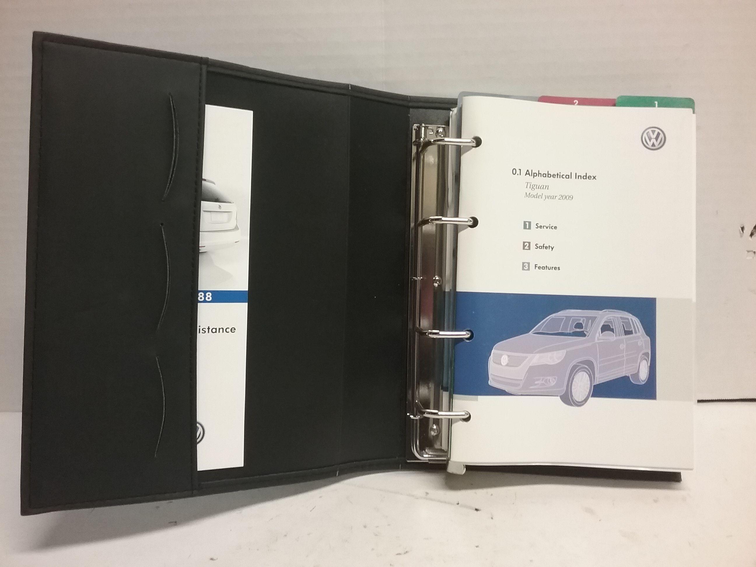 2009 volkswagen tiguan owners manual pdf