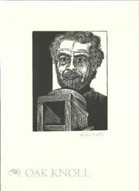 Peterborough, NH: Robert Hauser, n.d.. broadside, 10 3/4 by 14 3/4 inches. Self portrait print by St...