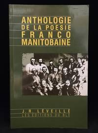 image of Anthologie de la Poesie Franco Manitobaine