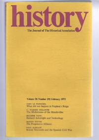 History, Journal of the historical Association, Volume 58 Number 192, February 1973