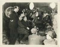 image of Original photograph of Albert Einstein and his wife Elsa, on a film set, 1931