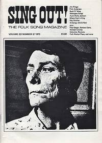SING OUT! THE FOLK SONG MAGAZINE,  Volume 22, Number 3,  May/June 1973