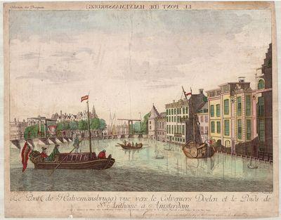 Le pont (de Halvemansbrugg) vuë vers...
