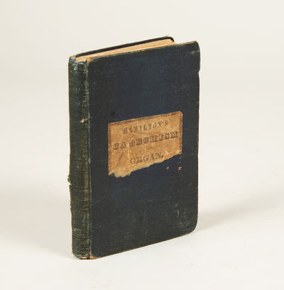 London: R. Cocks and Co, 1842. Small octavo. Original publisher's dark blue textured cloth with prin...