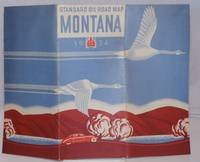 image of Standard Oil Company (Indiana) 1934 Official Road Map Montana