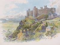 1905 Charles Wilkinson Print: 'Harlech Castle' [Wales]