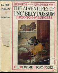 The Adventures of Unc Billy Possum  (Bedtime Story-Books)