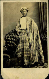 Carte de Visite photo of Burmese Prince, Maung Shaw Loo (1839 - 1929) in his native dress by  E.L. (Photographer) Mowry - First printing - 1860 - from Antipodean Books, Maps & Prints and Biblio.co.uk