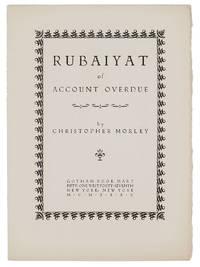 RUBAIYAT OF AN ACCOUNT OVERDUE