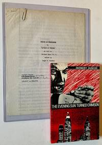 The 4-Page Manuscript of Allen Ginsberg's Introduction to Herbert Huncke's The Evening Sun Turned Crimson