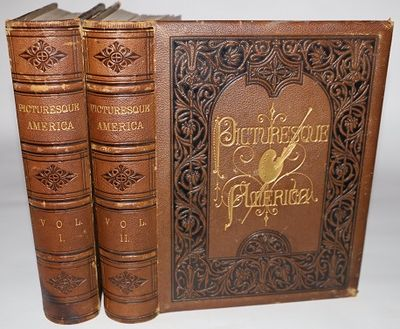 New York: D. Appleton and Company, 1872, 1874. First edition. Full Leather. Very Good. Bound in orig...