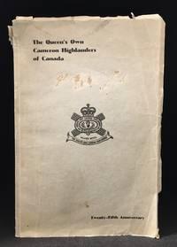 The Queen's Own Cameron Highlanders of Canada; Twenty-Fifth Anniversary Souvenir