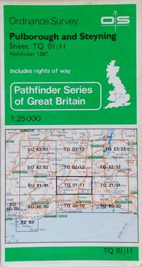 Pathfinder map sheet 1287: Pulborough and Steyning
