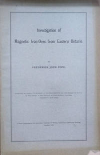 image of Investigation of Magnetic Iron-Ores from Eastern Ontario