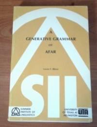 A Generative Grammar of Afar