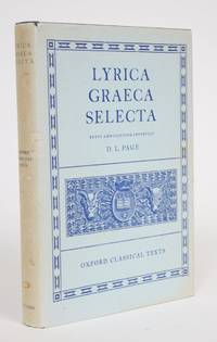image of Lyrica Graeca Selecta, Brevi Adnotatione Instruxit