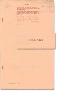 image of Border Flight (Original screenplay for the 1936 film)