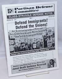 Class-Struggle Defense Notes; Number 29, Spring 2002