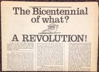 The Bicentennial of what? A Revolution!