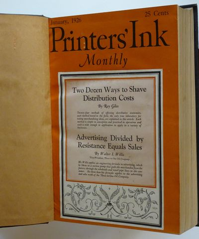 New York: Romer Publishing Company, Inc., 1926. Six issues of this iconic trade magazine, bound in b...